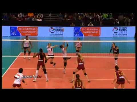 Top Volley 2012 | Galatasaray Daikin 48-46 Volero Zürich (Set 1)