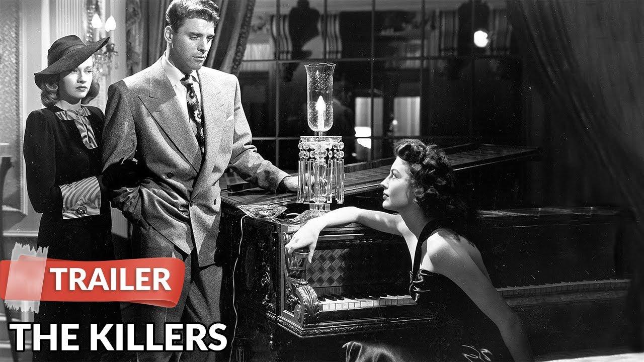 The Killers 1946 Trailer | Burt Lancaster | Ava Gardner