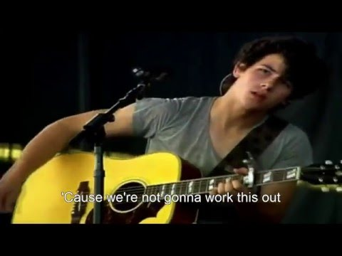 Jonas Brothers - Tonight HD (Music Video + Lyrics)