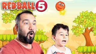 KIRMIZI TOP 5! | RED BALL 5 OYNUYORUZ