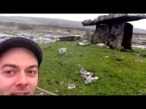Ireland Travel - The Burren, Ancient Stone Structures and the Plastic Poncho just Wont Do