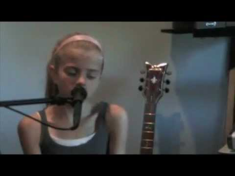 Sara Goodwin 11 years old sings