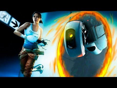 видео: Portal 2 - Гонки С Портальной Пушкой!
