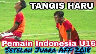 Detik-detik kemenangan Timnas Indonesia U16 Juara AFF 2018 | Indonesia vs Thailand GOR Delta Sda