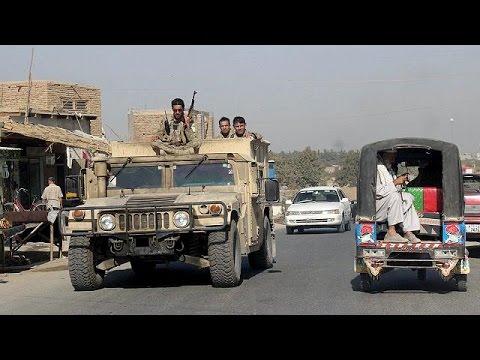 Afganistan'da Taliban militanları Kunduz kentinde