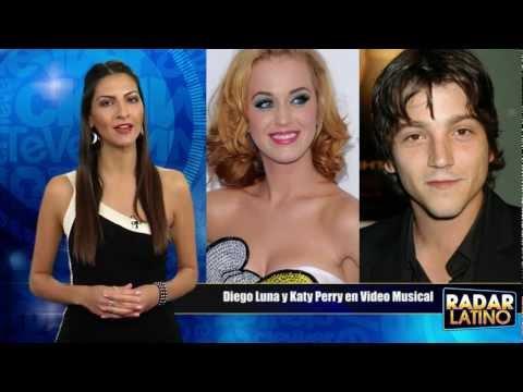 """Diego Luna Nuevo Novio De Katy Perry En Video """"The One That Got Away"""""""