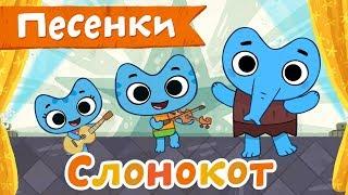 Котики, вперед! Песенка - Слонокот - развивающие песенки мультики для детей
