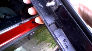 Спойлер задней двери Citroen C4 coup
