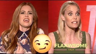 Isla Fisher and Leslie Bibb Talk Humor, Competion And Cheesecake