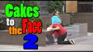 Public Pranks: Cakes to the Face 2!