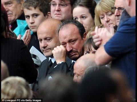 Benitez  2011 Hillsborough memorial