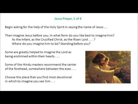 The Jesus Prayer by Anthony de Mello