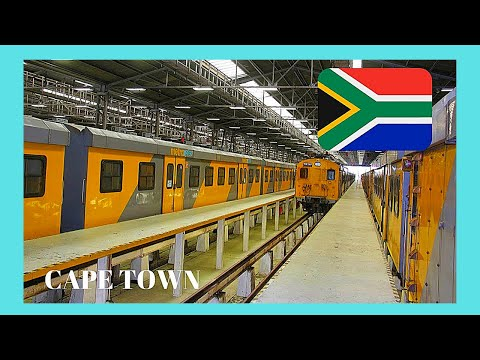 CAPE TOWN, my adventurous train ride in South Africa to Simon