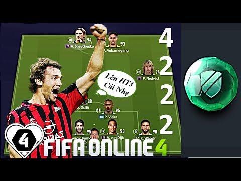 Leo RANK HUYỀN THOẠI 3 Với Sơ Đồ Đội Hình 4-2-2-2 Với CHIM ĐẦU ĐÀN Shevchenko TT By I Love FIFA