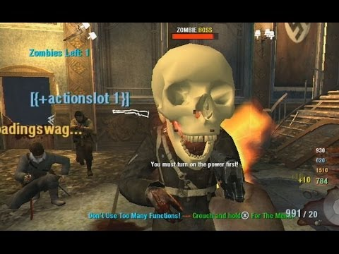 So I Was Put Into A Hacked Wii Zombies Lobby (Black Ops Kino Der Toten)