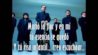 Karaoke - Los Angeles Negros - Murió La Flor (tono bajo)
