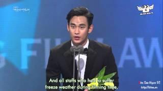 Video [Engsub] [1.11.2013] Best New Actor Kim Soo Hyun download MP3, 3GP, MP4, WEBM, AVI, FLV Januari 2018