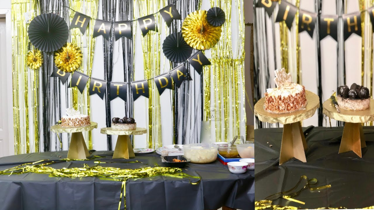 How to Decorate Your House for a Birthday Party | How I Decorated Room for my Husband's Birthda
