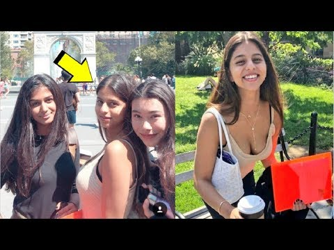 Suhana Khan CUTE Video Enjoying With Her Friends In New York Mp3