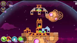 Angry Birds Space HD Brass Hogs All levels