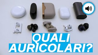 MEGA CONFRONTO auricolari True Wireless: AirPods Pro vs Sony vs Huawei vs Jabra vs Creative