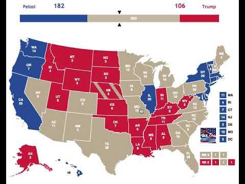 2020 Election Prediction | Nancy Pelosi vs Donald Trump | November 22nd, 2018