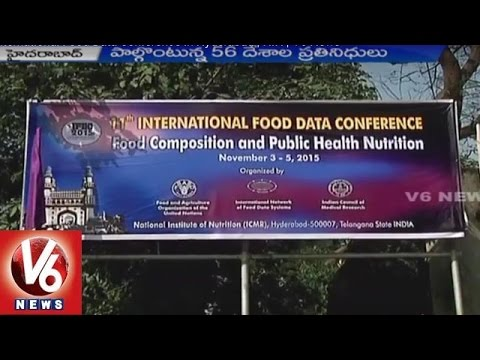 11th International Food Data Conference in Hyderabad | NIN | V6 News