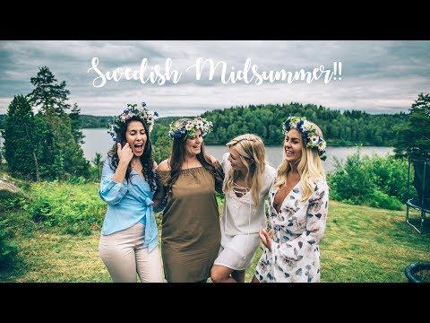 SWEDISH MIDSUMMER VLOG