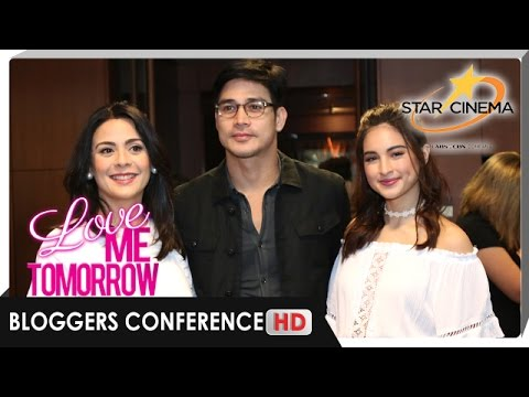 [FULL] 'Love Me Tomorrow' Bloggers Conference | Piolo, Colee