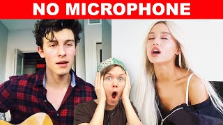 Famous Singers SLAYING Without Microphones!