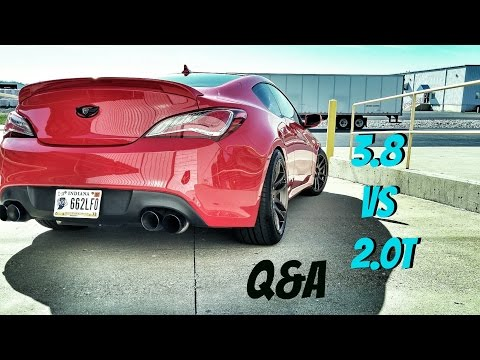 Why I Bought A 3.8 over 2.0T Genesis Coupe BK2