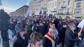 Marseille : le cortège de la manifestation s'est élancé vers la préfecture