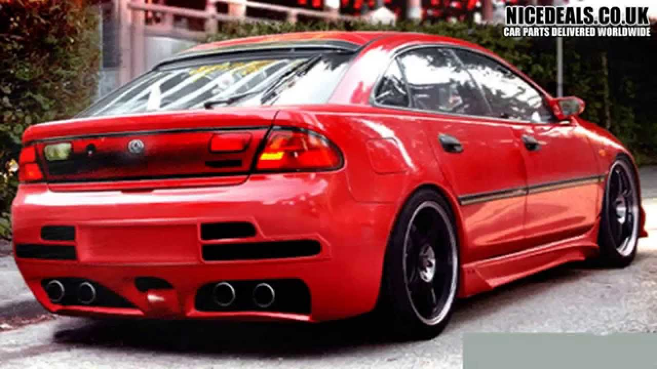 Mazda 323f body kits sports bumpers fenders wings skirts youtube altavistaventures Choice Image