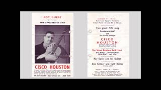 Cisco Houston Live, London March 1960