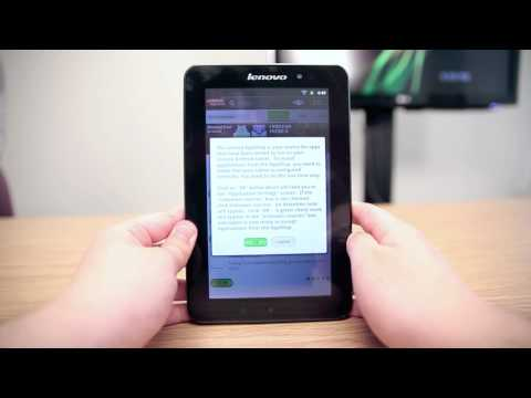 "Lenovo Tablet A1 7"" 2.3 Android Gingerbread Tablet Review"