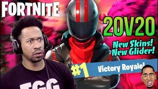 NOUVEAU MODE DE JEU!! Fortnite 20v20 Gameplay LET'S GET IT!!!