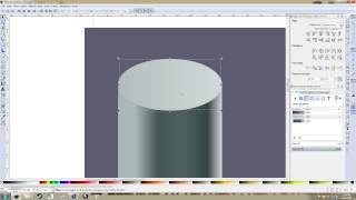 Inkcape Tutorial: Gradients for Isometric or Angled Cylinders