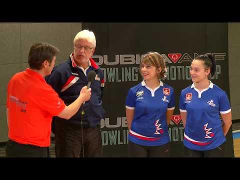 2017 Interviews Equipe de France Féminine de Bowling