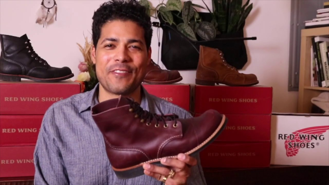 88800c9cbca Red Wing 8119 Iron Ranger in Mesa Oxblood Leather