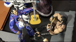 WWE Action Figure Set Up - Raw vs Smackdown
