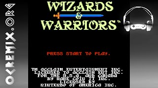 OC ReMix #1034: Wizards & Warriors 'Wise Wizards, Old Warriors' [Title] by bazooie