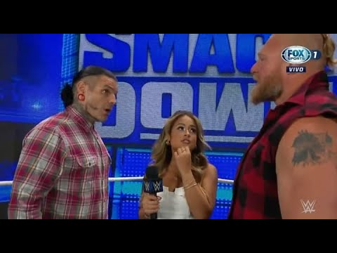 Download Brock Lesnar announces that it will be Free agent - WWE Smackdown 10/1/21