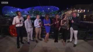 2015 Abu Dhabi - Post-Race: BBC F1 team