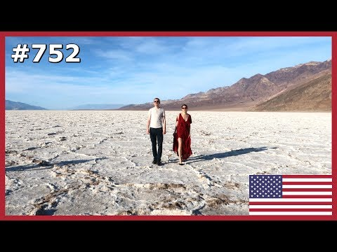 DEATH VALLEY NATIONAL PARK CALIFORNIA ROAD TRIP DAY 752 | TRAVEL VLOG IV