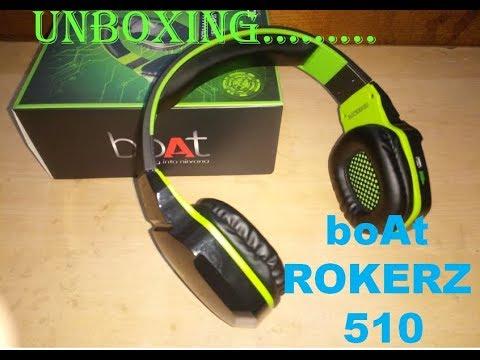 523a12e0c3a Unboxing green boAt rokerz 510 | ANDRO TECH HINDI - YouTube