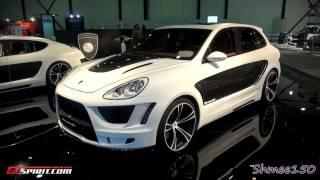 Gemballa Tornado - Porsche Cayenne 958 2011 Videos