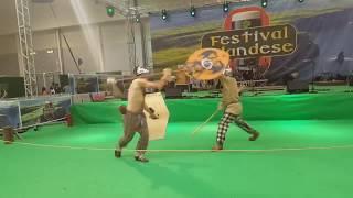 Antichi Popoli: Duello celtico al Festival Irlandese 2017. Video 1 di 3.