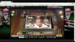 2015 Dugout Blues Live Draft Chat