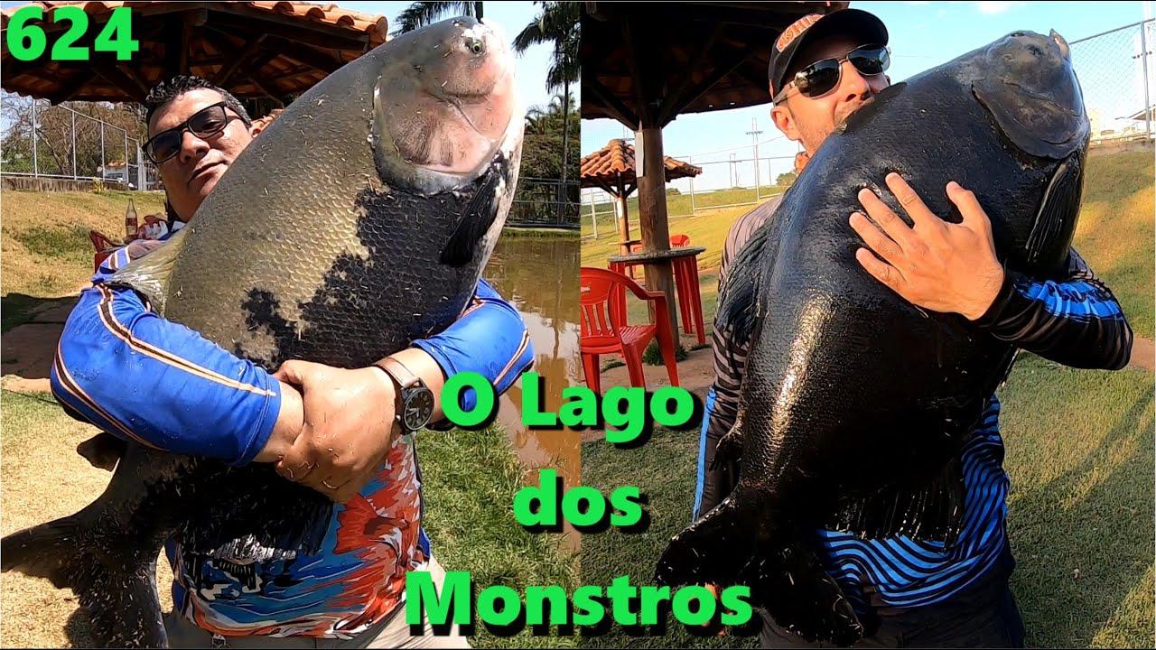 O Lago dos MONSTROS em Goiânia - Pesque Pague Esmeralda - Programa Fishingtur na TV 624 Pesca