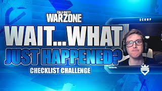 CHECKLIST CHALLENGE - 2 LOCATIONS LEFT (WILDEST DEATH IN WARZONE HISTORY)